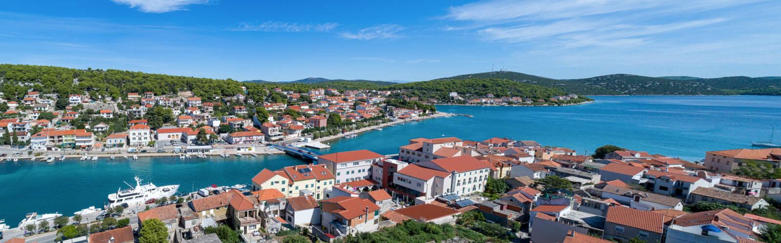Tisno Aerial View