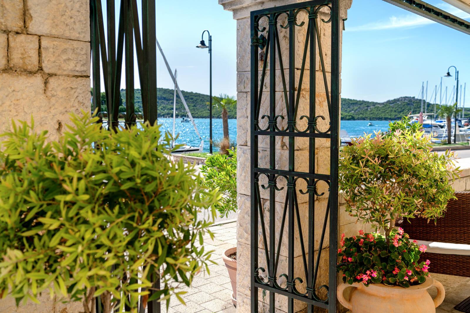 Terrace Entrance